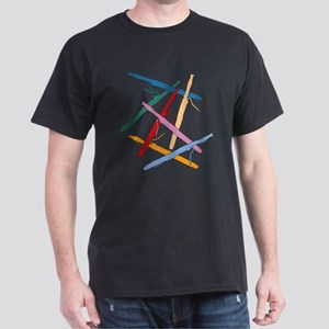 Colorful Bassoons Dark T-Shirt