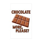 vcb-chocolate-bar Sticker (Rectangle 50 pk)