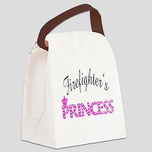 firefightersprincess Canvas Lunch Bag