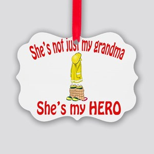 not just my grandma fire Picture Ornament