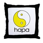 Hapa Yin-Yang Throw Pillow