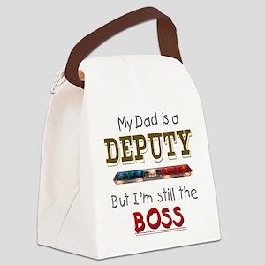 3-dadisdeputypolice Canvas Lunch Bag