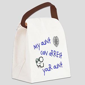 arrestyouraunt Canvas Lunch Bag