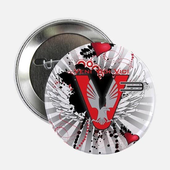 """V3 graphic design 2.25"""" Button"""