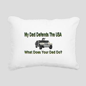 hummerdaddy Rectangular Canvas Pillow