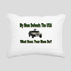 militarydefendsmom Rectangular Canvas Pillow