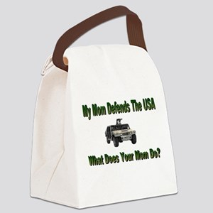 militarydefendsmom Canvas Lunch Bag