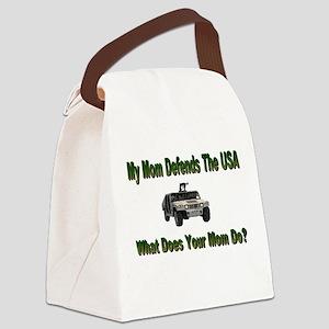 militarydefendsmom Canvas Lunch Bag