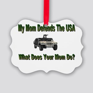 militarydefendsmom Picture Ornament