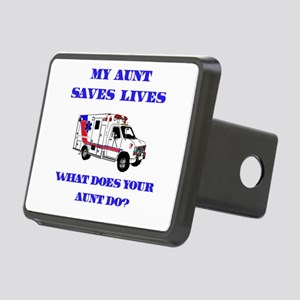 saveslivesambulanceaunt Rectangular Hitch Cove