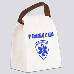 heroparamedicgrandpa Canvas Lunch Bag