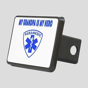 heroparamedicgrandpa Rectangular Hitch Cover