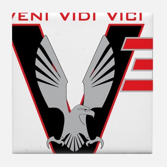 V3 logo Tile Coaster
