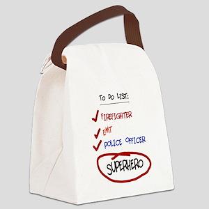 superhero Canvas Lunch Bag