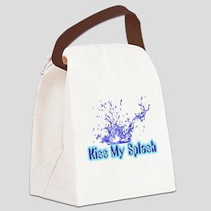 kiss my splash Canvas Lunch Bag