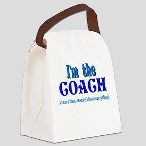 Im the coach girl Canvas Lunch Bag
