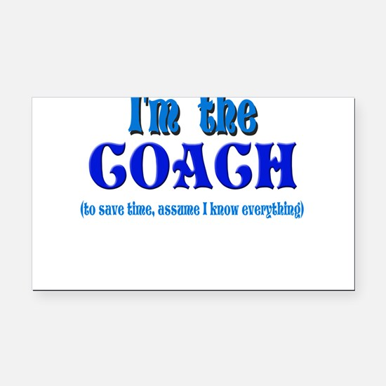 Im the coach girl.png Rectangle Car Magnet