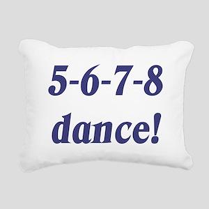 5678white Rectangular Canvas Pillow