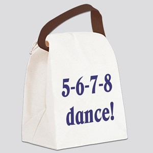 5678white Canvas Lunch Bag