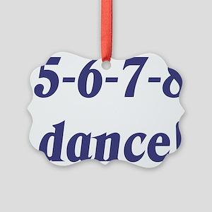 5678white Picture Ornament