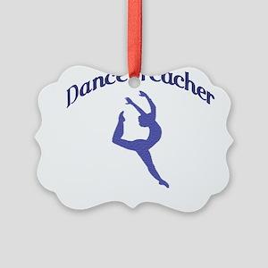 danceteacher1 Picture Ornament
