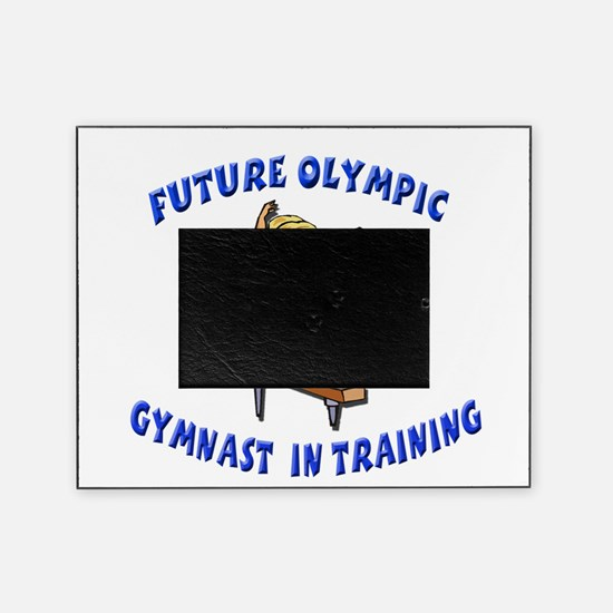 future olympic gymnast.png Picture Frame