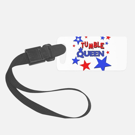 red blue stars tumble queen.png Luggage Tag
