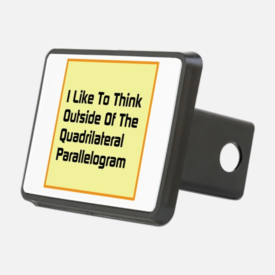 Quadrilateral Parallelogram Hitch Cover