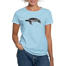 Leatherback Sea Turtle Women's Light T-Shirt