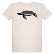 Leatherback Sea Turtle Organic Kids T-Shirt