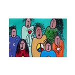 Unity Wise Women Rectangle Magnet (10 pack)