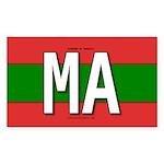ma-colors Sticker (Rectangle 50 pk)