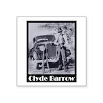 Clyde Barrow Square Sticker 3