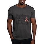 Uterine Cancer Words Dark T-Shirt