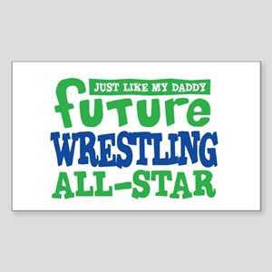 Future Wrestling All Star Boy Sticker (Rectangle)