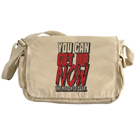 Wrestling Get Up Now Messenger Bag