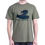 Dont Tread On Me, Tea Party Updated Dark Tshirt