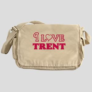 I Love Trent Messenger Bag