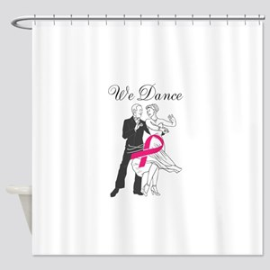 Dance Breast Cancer Shower Curtain
