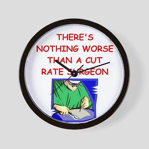 surgeon Wall Clock