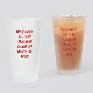 research Drinking Glass