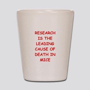 research Shot Glass