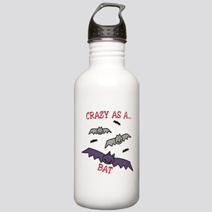 Crazy As A Bat Stainless Water Bottle 1.0L