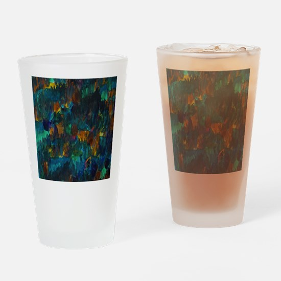 Funny Abstract forest Drinking Glass