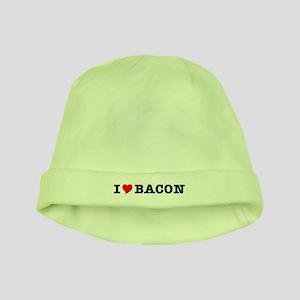 Bacon I Love Heart baby hat