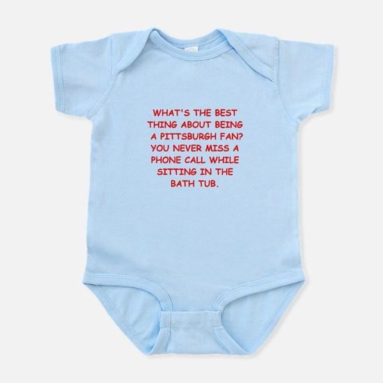 pittsburgh hater Infant Bodysuit