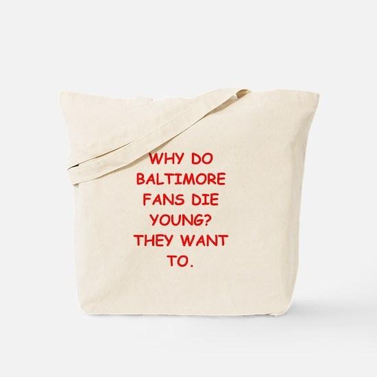 baltimore hater Tote Bag