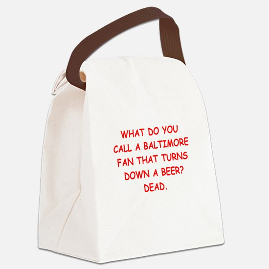 BALTIMORE2.png Canvas Lunch Bag