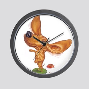 dashund Wall Clock
