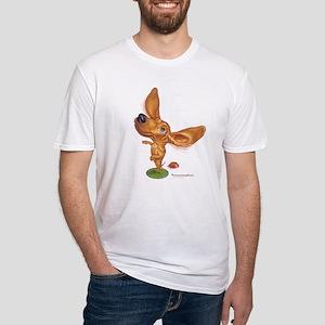 dashund Fitted T-Shirt